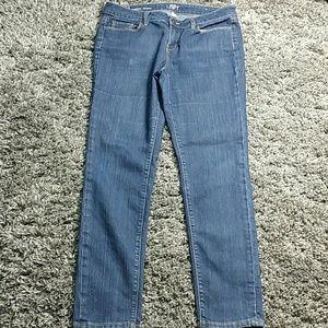 Ann Taylor Loft jeans, modern skinny
